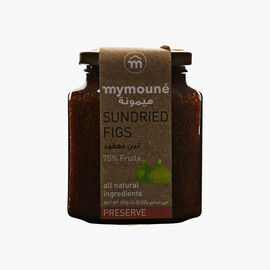 Dried fig extra jam  Mymouné