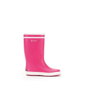 Botte de pluie enfant rose