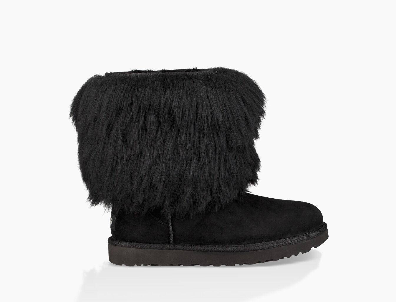 ugg mongolian sheepskin cuff boot
