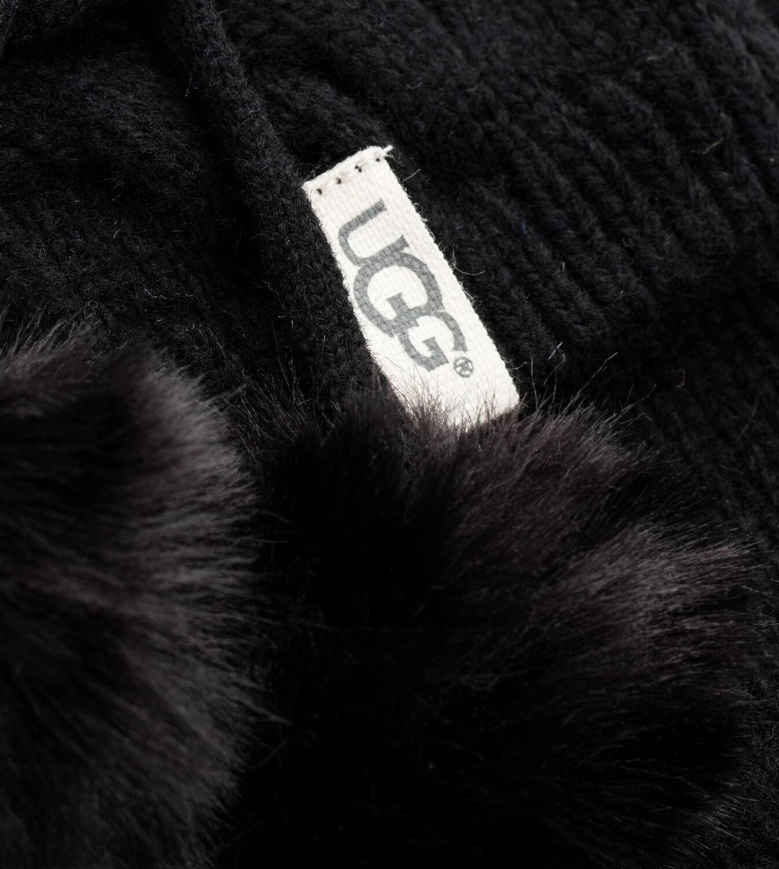 Details about Womens Socks UGG Pom Pom Tall Rainboot Sock 1018806 Charcoal Heather *New*