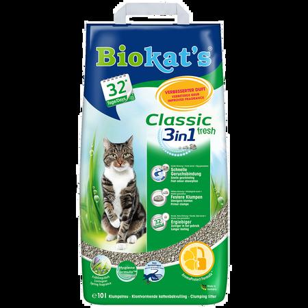 Biokat's Classic Fresh 3in1 Katzenstreu