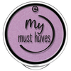 Bild: essence My Must Haves Eyeshadow purple clouds
