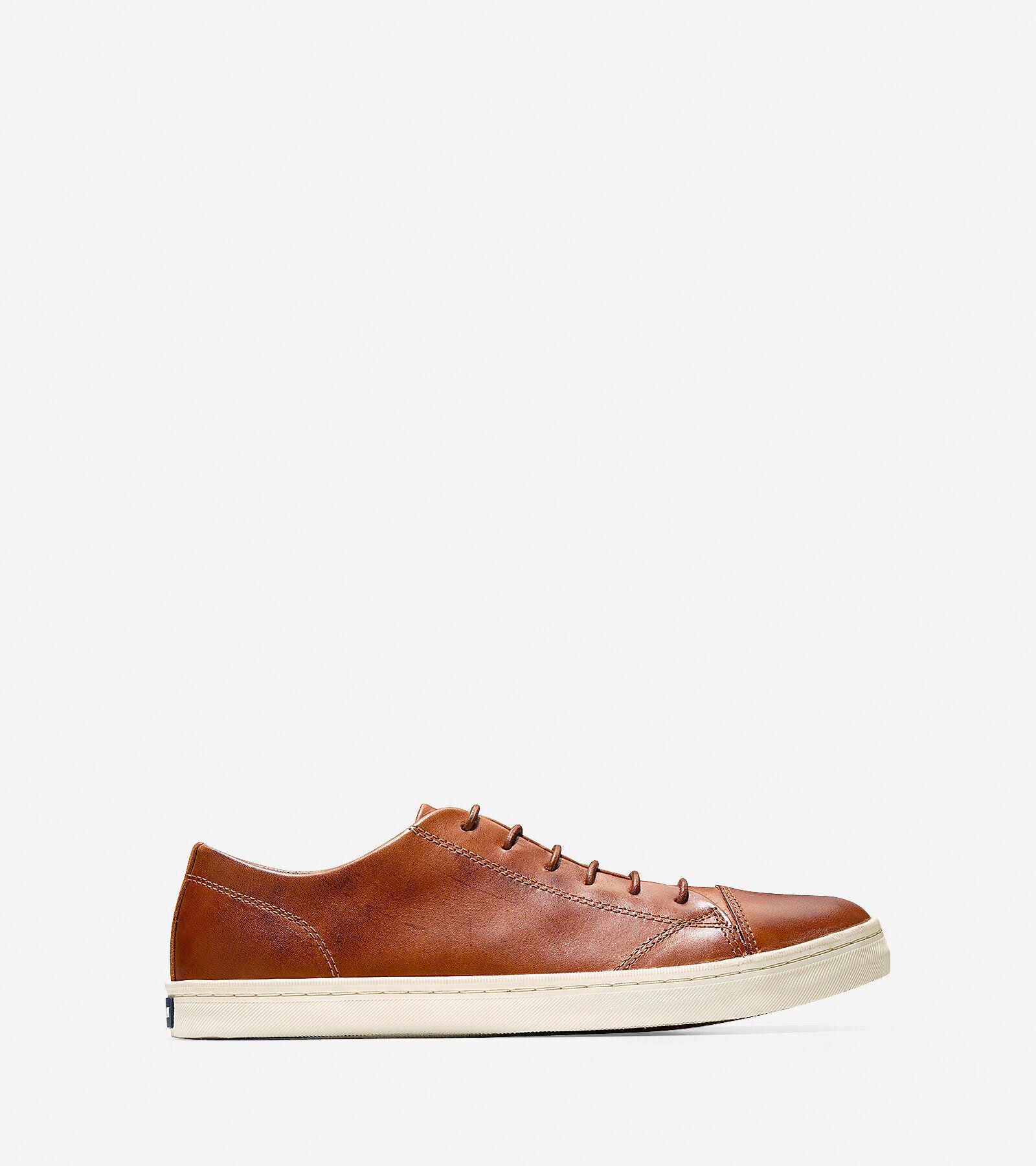Men's Trafton Luxe Cap Toe Sneakers in