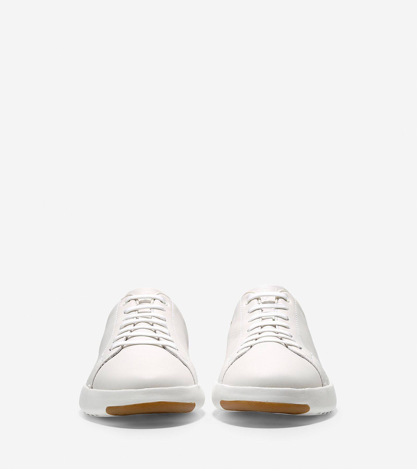 Mens GrandPro Tennis Sneakers in White