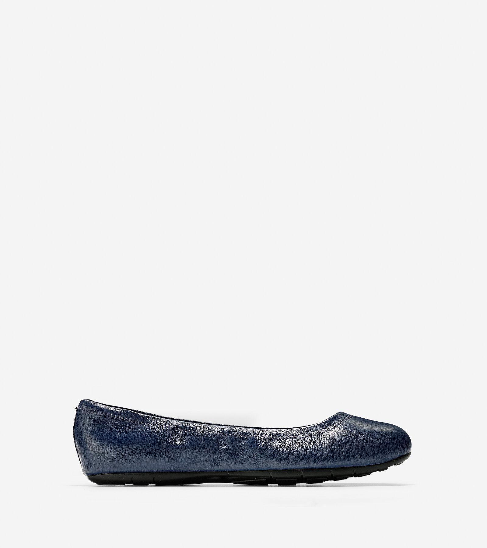 ZEROGRAND Ballet Flats in Blazer Blue
