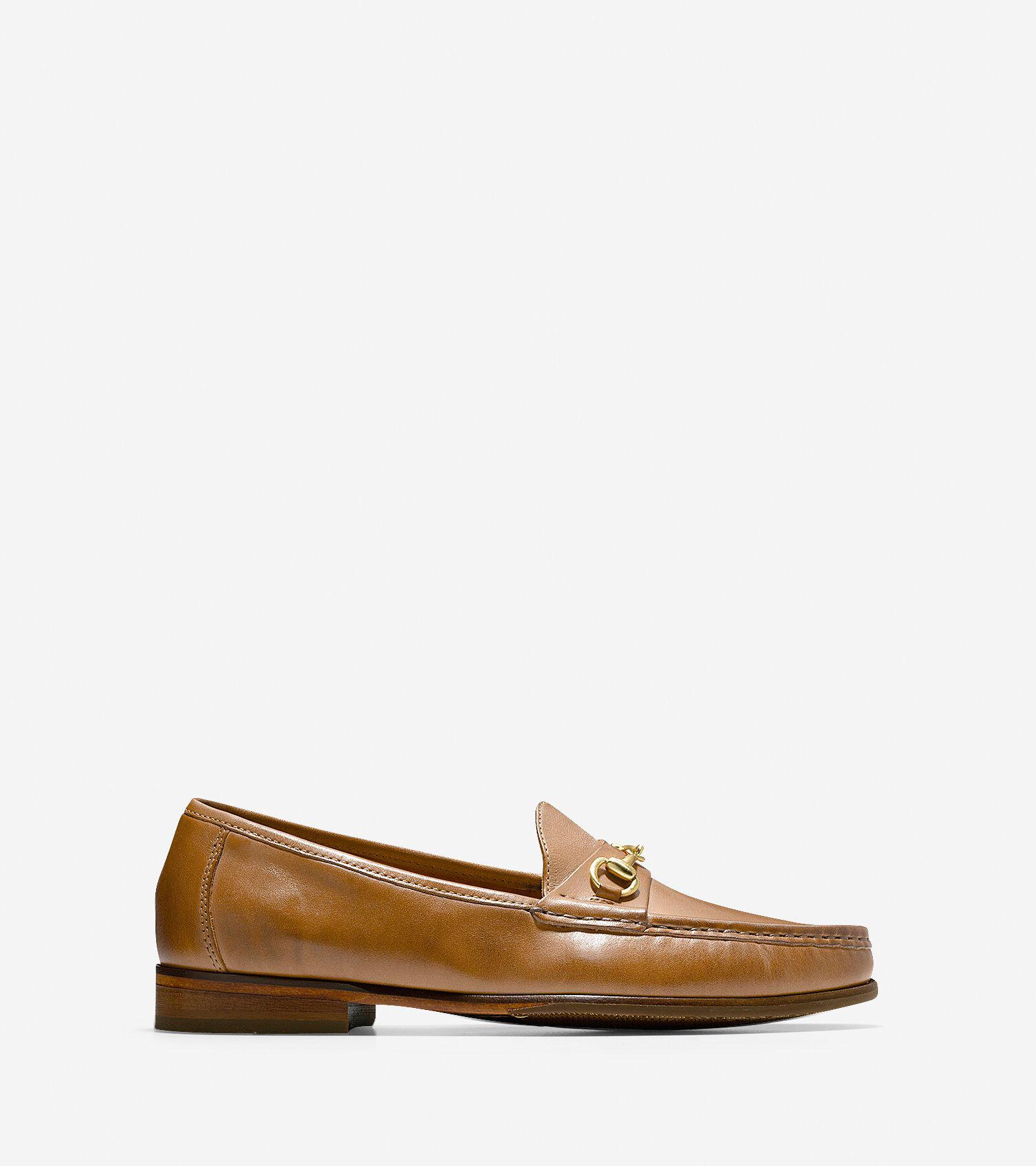 Men's Ascot Bit Loafers in British Tan