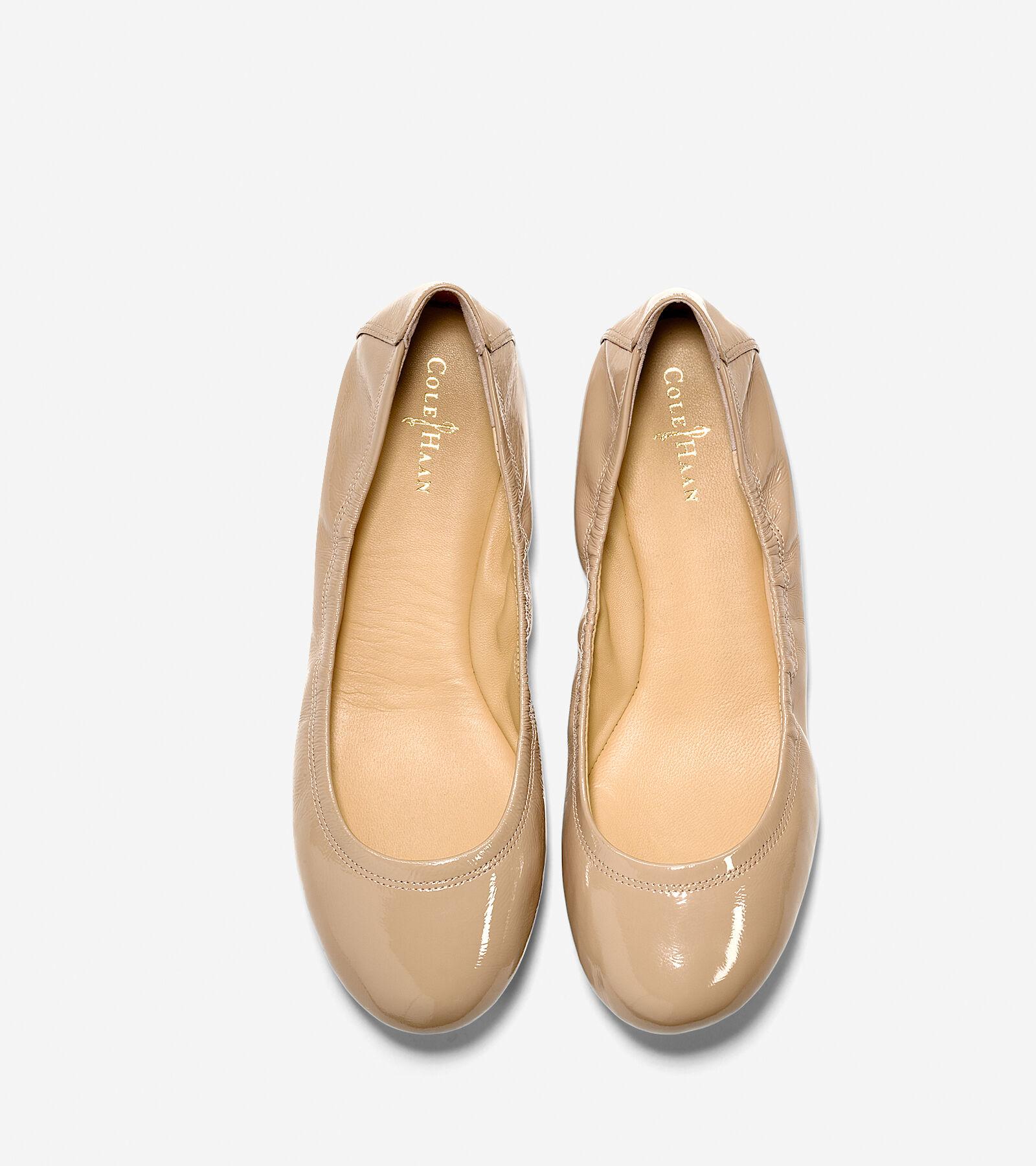 Manhattan Ballet Flats in Sandstone