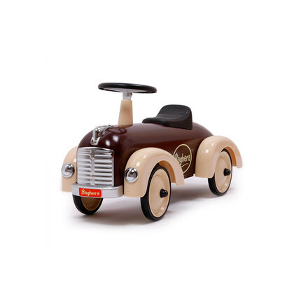 Porteur auto Speedster – Chocolat marron