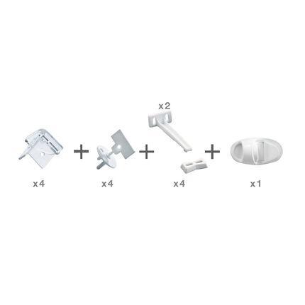 Essentiel de sécurité maison – Blanc