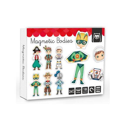 Puzzle magnétique - Héros du Monde