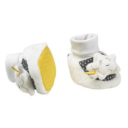 Chaussons Babyfan 0-6 mois blanc