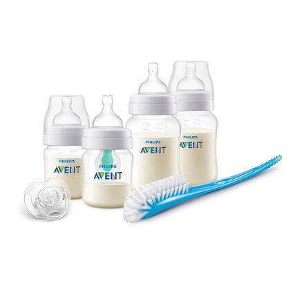 Kit nouveau-né Anticolic avec valve AirFree™ transparent
