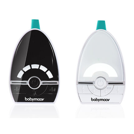 Babyphone audio Expert Care blanc/noir