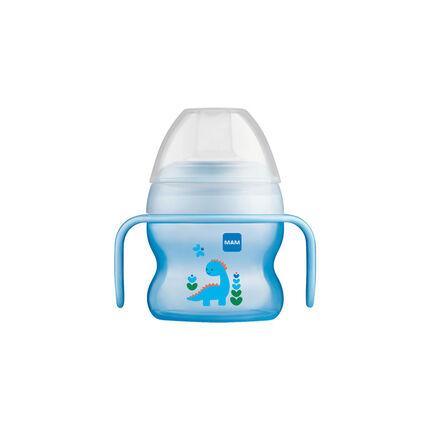 Tasse à bec souple 150 ml 6m+ – Garçon bleu