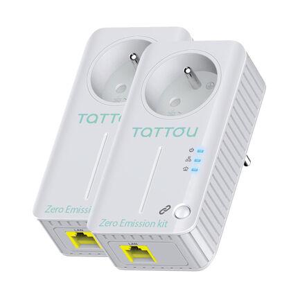 Kit Zéro Emission pour babyphone TIO, VIO et PIO blanc