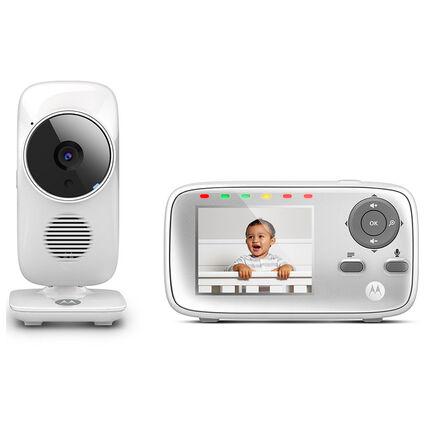 Babyphone moniteur vidéo - MBP 483 blanc