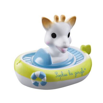 Jouet de bain Le bateau arroseur Sophie la Girafe
