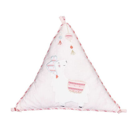 Coussin décoratif triangle - Mila blanc
