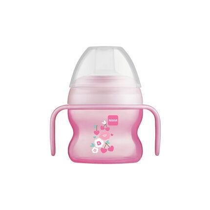 Tasse à bec souple 150 ml 6m+ – Fille rose