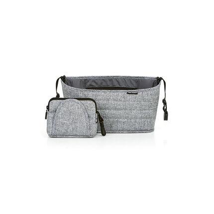 Organiseur pour poussette – Graphite grey gris