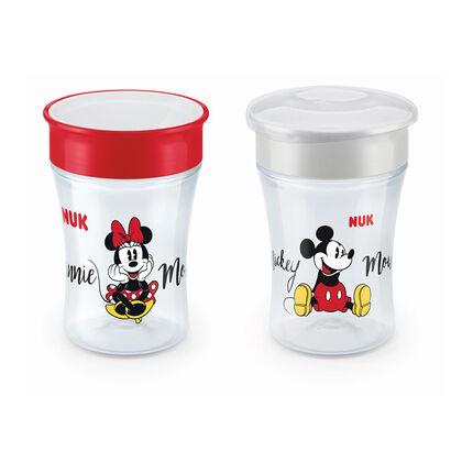 Verre Magic Cup 360° 8+ mois - Disney Mickey/Minnie transparent
