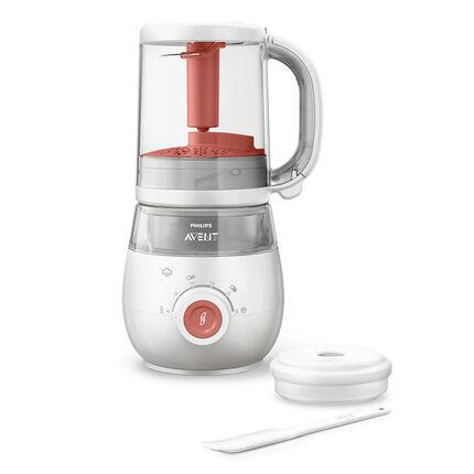 Robot cuiseur-mixeur 4-en-1 - Blanc
