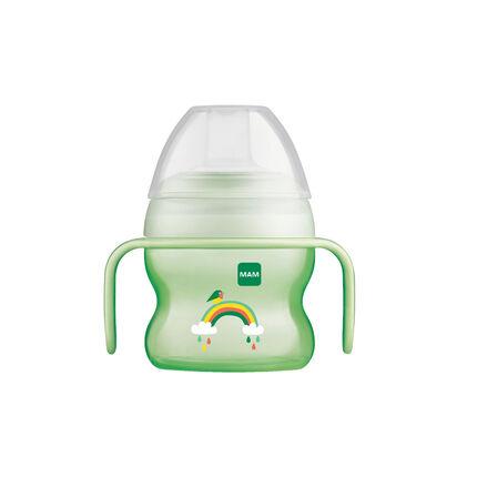 Tasse à bec souple 150 ml 6m+ – Unisexe vert