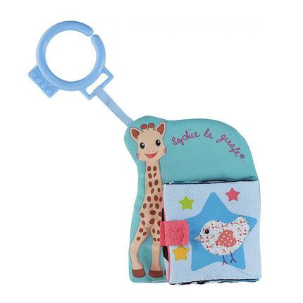 Jouet Mon premier livre d'éveil Sophie la Girafe bleu
