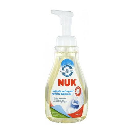 Liquide nettoyant 380 ml spécial biberons et sucettes - Nouvelle Formule transparent