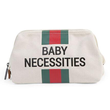 Trousse de toilette Baby Necessities - Blanc/Rouge/Vert