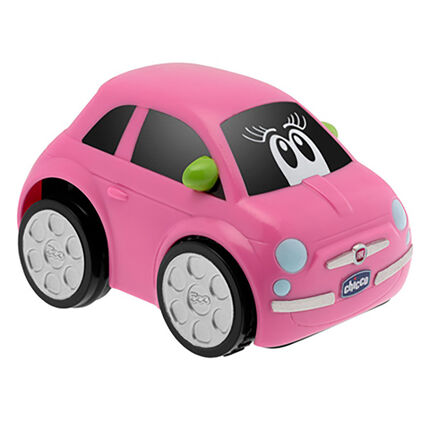 Voiture Turbo Touch Fiat 500 Girl rose