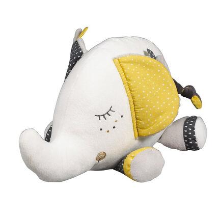 Doudou Babyfan moyen modèle - 28 x 23 cm blanc