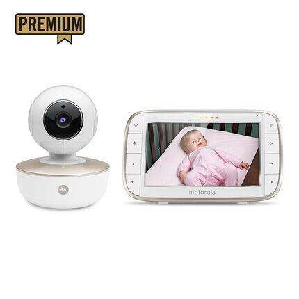 Babyphone vidéo wifi MBP855 Connect 2 en 1 blanc