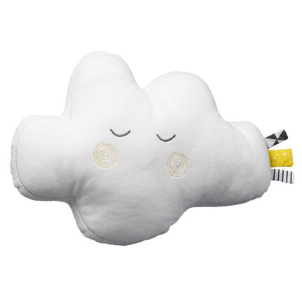 Coussin Nuage Babyfan - 31 x 21 cm blanc
