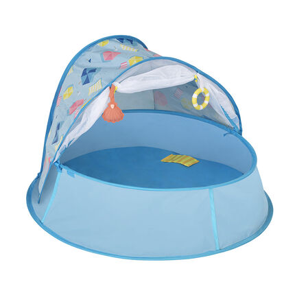 Nid 3-en-1 piscine, lit et aire de jeu - Aquani bleu