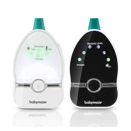 Babyphone audio Easy Care blanc/noir