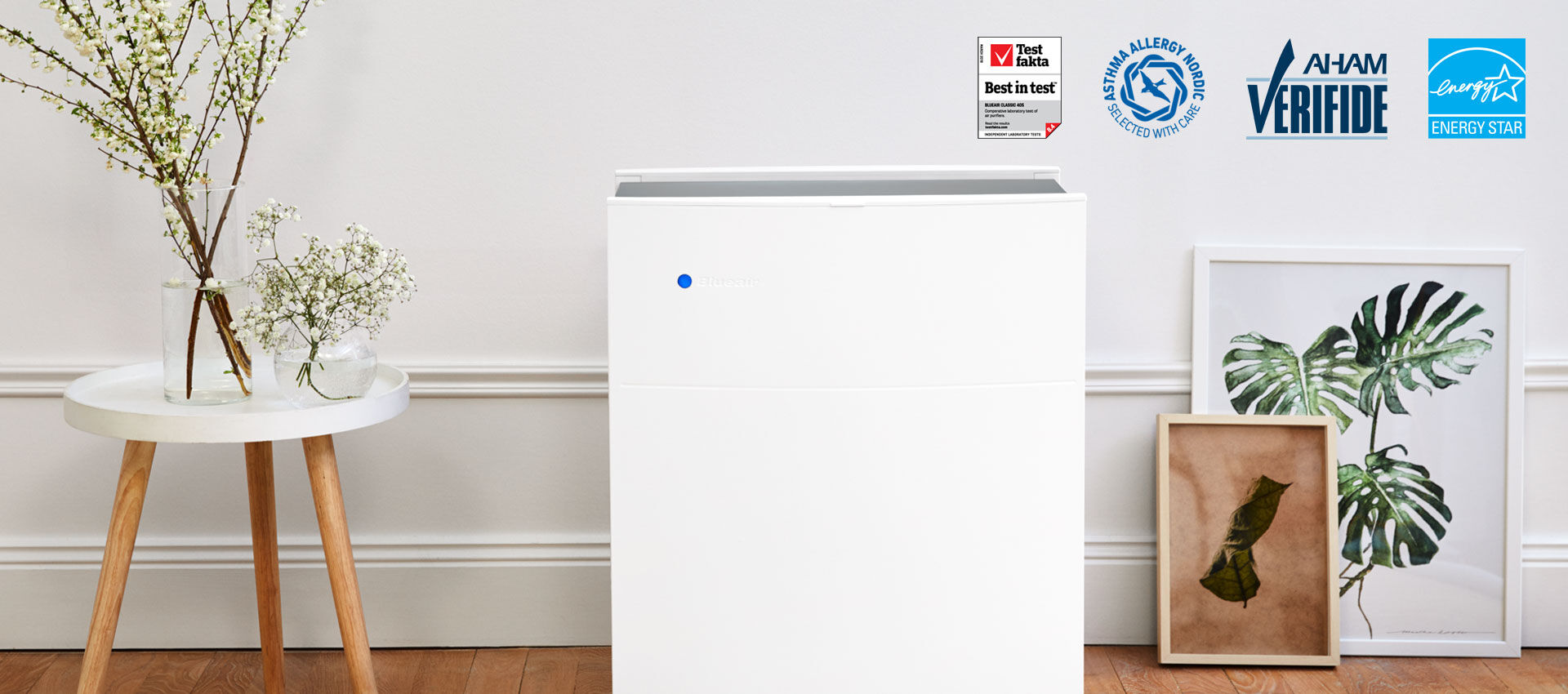 Blueair  Our most awarded air purifier  EU-classic-405-awards-banner