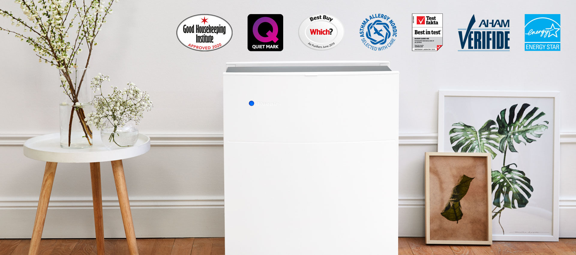 Blueair  Our most awarded air purifier  GB-classic-405-awards-banner