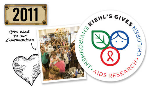 Kiehl's Gives Back