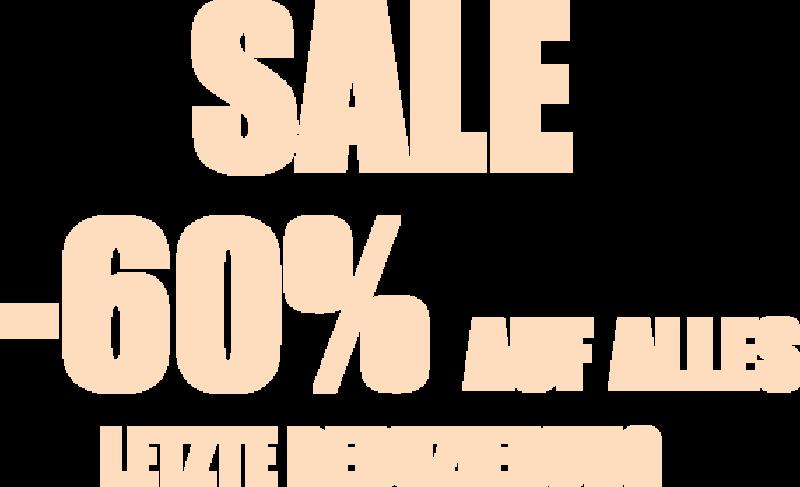 Sale bis -60%