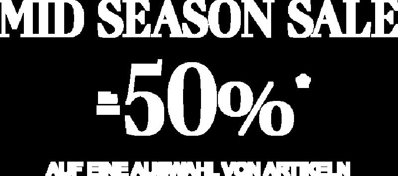 Mid Season Sale bis -50%