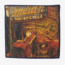 Indian Motorcycle Pocket Square, 1017496 Multi, blockout