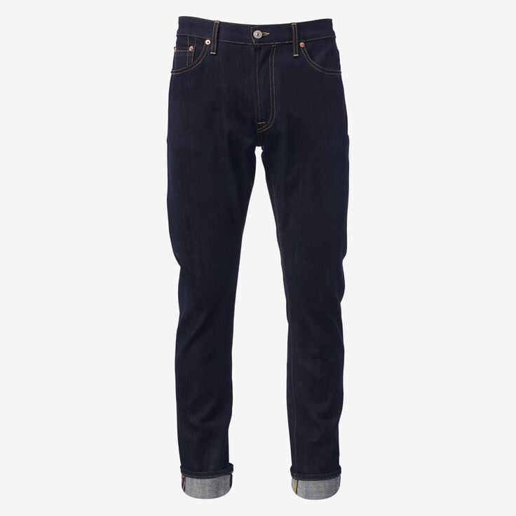 Walker Slim Straight Leg Jean in Overdye Raw by Civilianaire, 1017625 Overdye Raw Blue, blockout