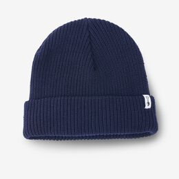 Knit Beanie by American Trench, 1014795 Navy, blockout