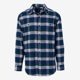 Hawthorne Flannel Shirt by Pendleton, 1016561 Blue/Green Plaid, blockout