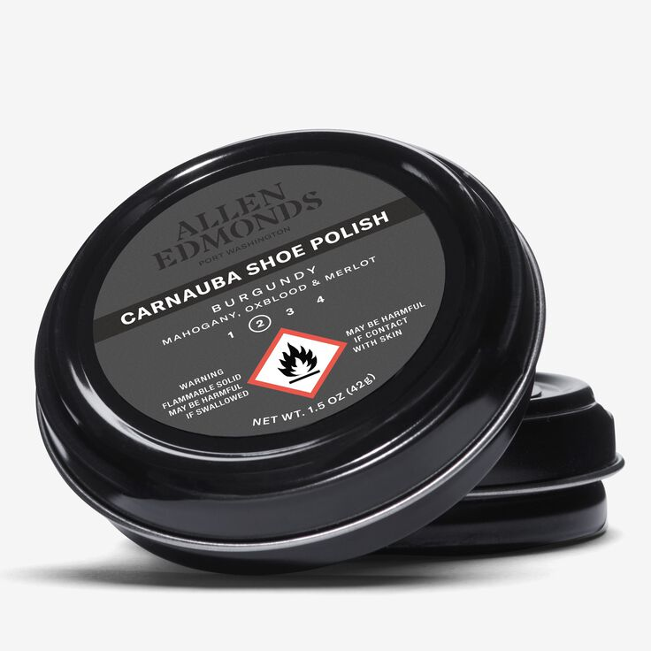 Carnauba Wax Polish, 1015000 Burgundy, blockout