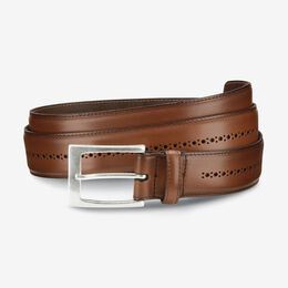 Douglas Street Casual Belt, 27590 Walnut, blockout