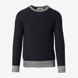 Crew Neck Sweater, 1018558 Navy, blockout