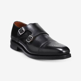 St. Johns Double Monk Strap with Dainite Rubber Sole, 4231 Black, blockout