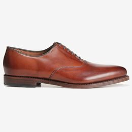 Carlyle Plain-Toe Oxford, 8833 Dark Chili, blockout